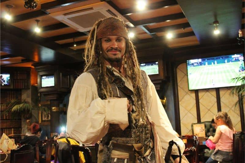 Captain Jack at Coral Island