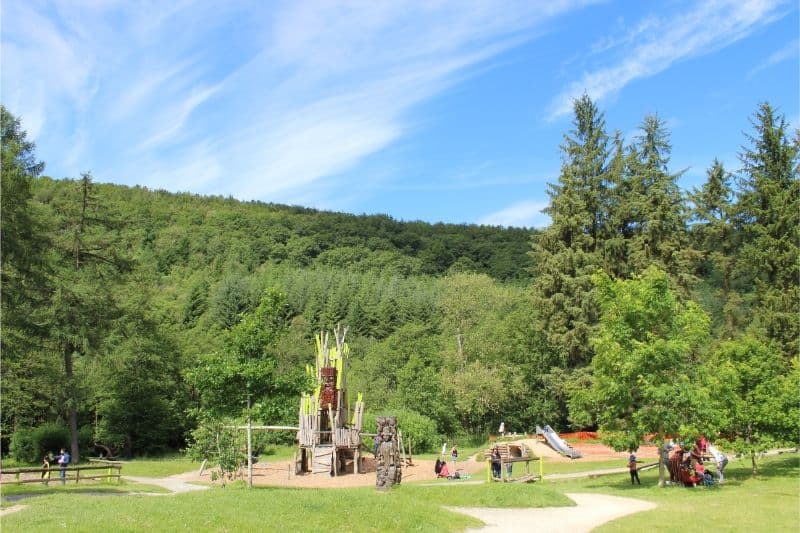 Playground at Dalby Forest