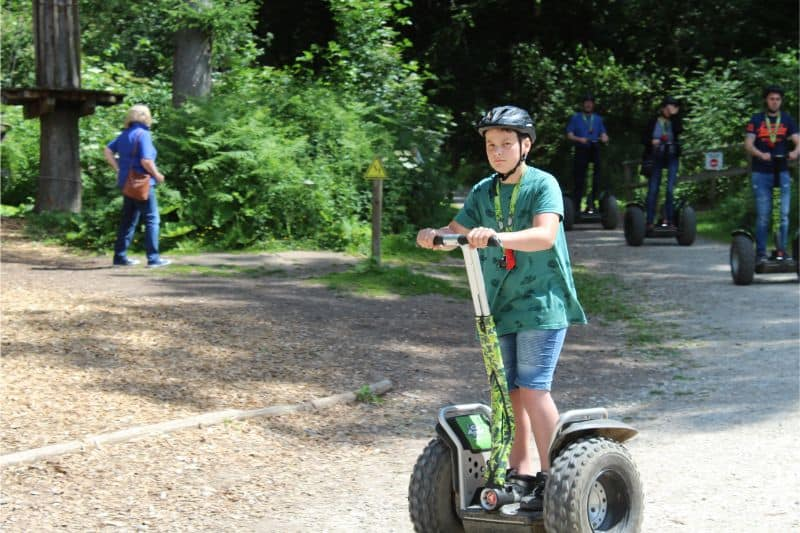 Go Ape Dalby Forest Review - Segways