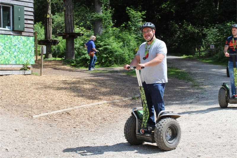 Go Ape Dalby Forest Review - Segways and Tree Top Adventure