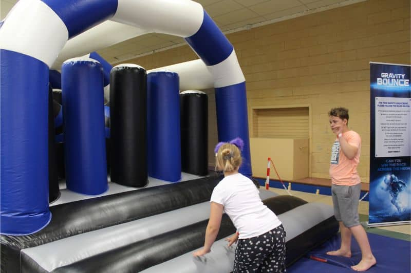 Obstacle Course at Potters Resort