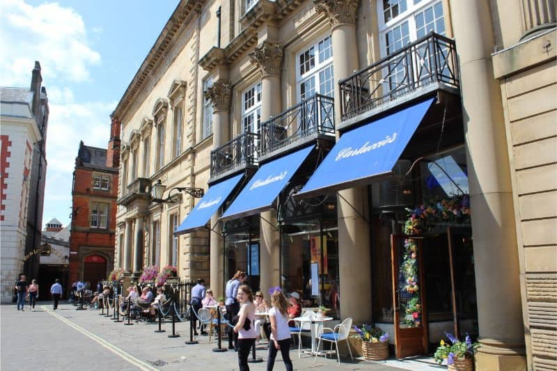 Taking Kids to Carluccio's, St Helen's Square, York – Review
