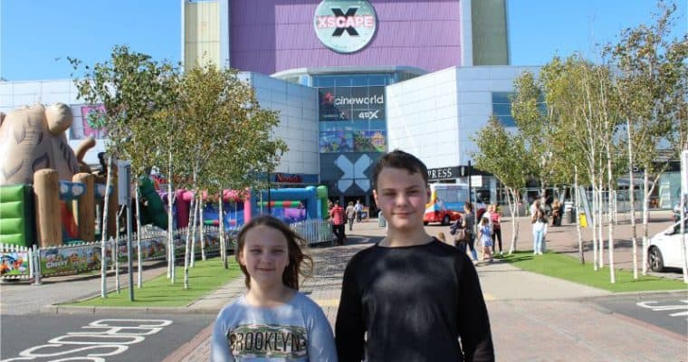 Kids' Birthday Parties at Xscape Castleford – LaserZone and 4D Golf Review