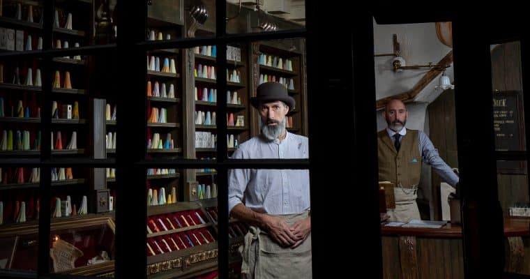 York Ghost Merchants – World's first ghost shop opens in York