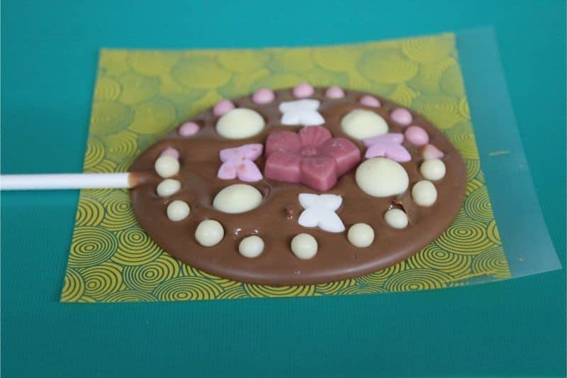 Children's chocolate workshop Butterflies chocolates