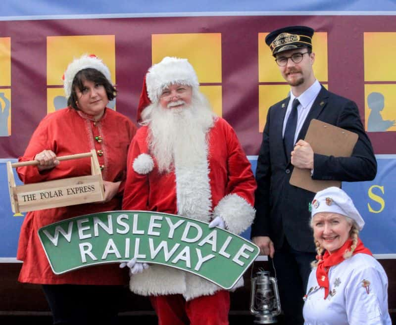 The Polar Express Train Ride in Wensleydale - Yorkshire Dales