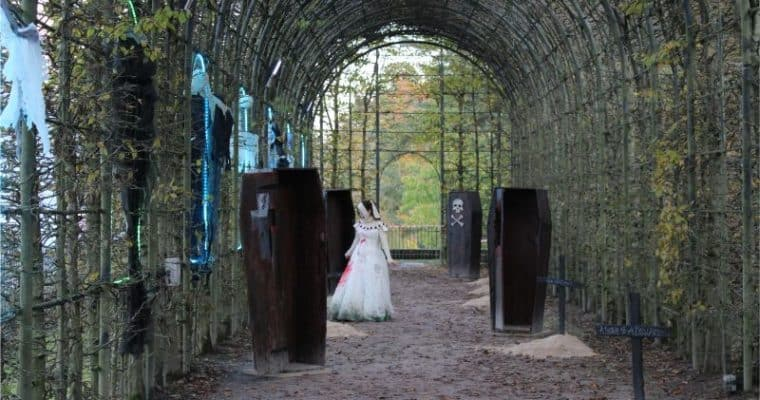 Garden of Screams at The Alnwick Garden at Halloween Review