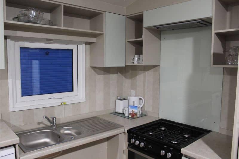 Prestige Accessible Caravan Review Primrose Valley Kitchen