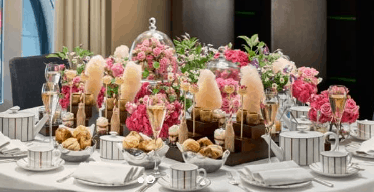 Charlie and the Chocolate Factory Kids Afternoon Tea in London