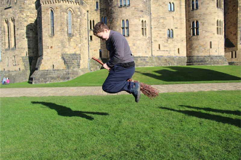 Alnwick Castle Broomstick Training