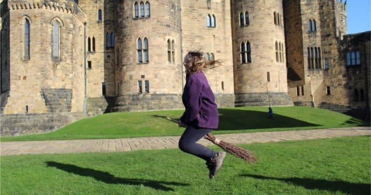 Broomstick Training and More at Alnwick Castle