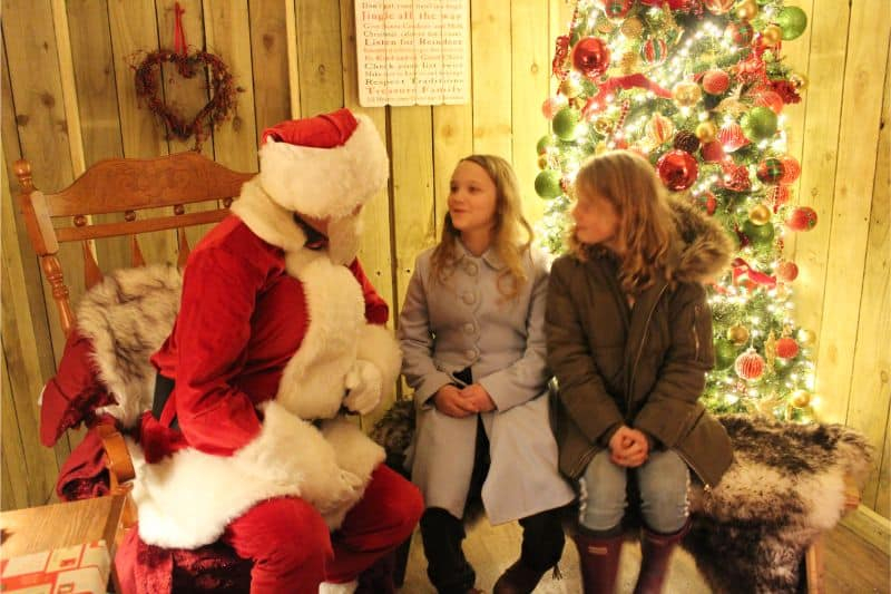 Father Christmas at Lotherton