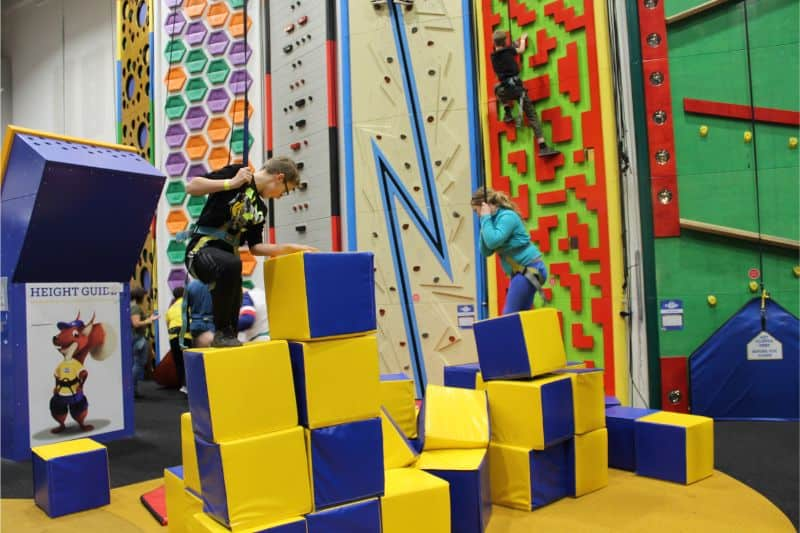 Rock Up Hull Climbing Birthday Party