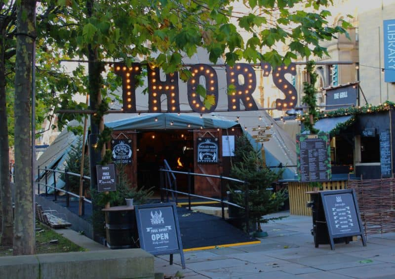 Thor's Tipi in Leeds Review – A Christmas Treat!