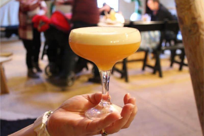 Passionfruit Martini at Thors