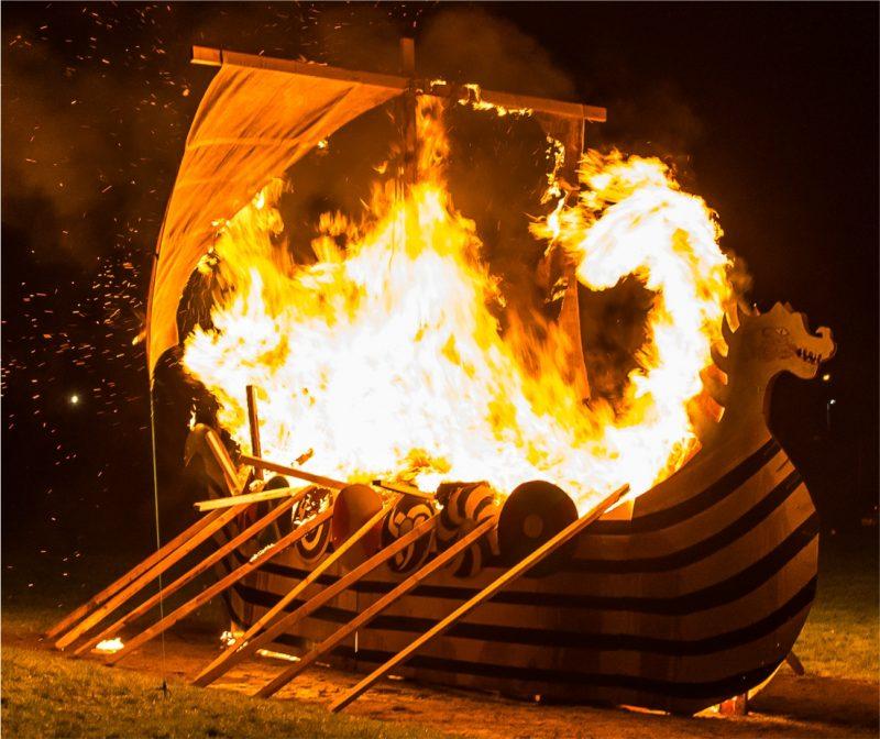 Flamborough Fire Festival New Years Eve