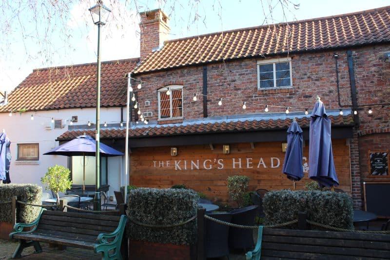 The King's Head Beverley Beer Garden