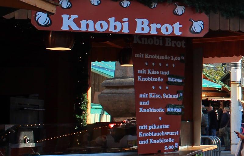 Knobi Brot - Garlic Bread