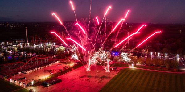 fireworks near York