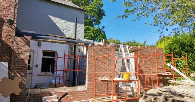 Self Building a Kitchen Extension
