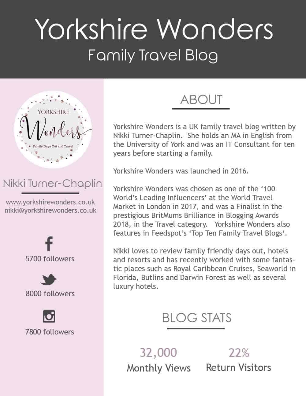 family travel blogs UK
