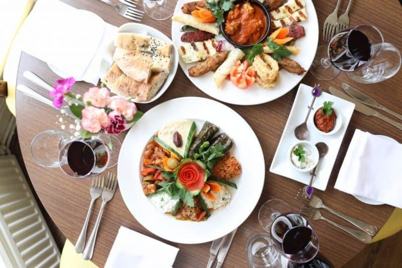 Meze Turkish restaurant in leeds