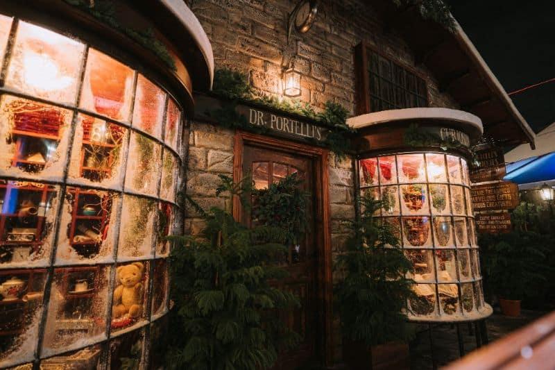 Christmas Backyard Cinema London
