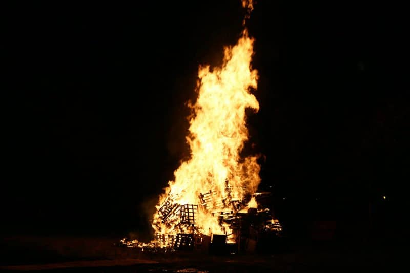 bonfire night york