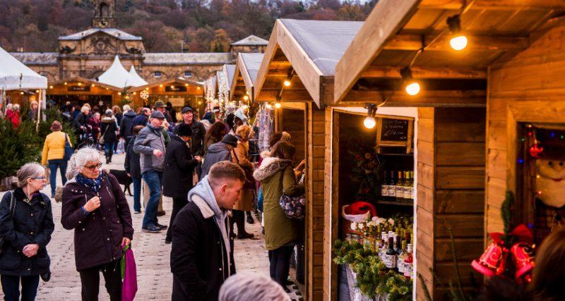 derbyshire christmas markets