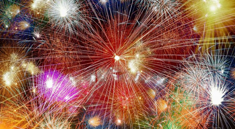 Manchester Fireworks Display and Bonfire Night
