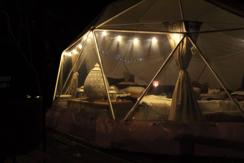glamping with hot tub, Yorkshire