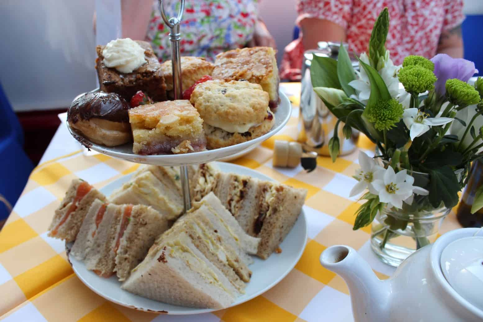 Afternoon Tea on Board City Cruises York
