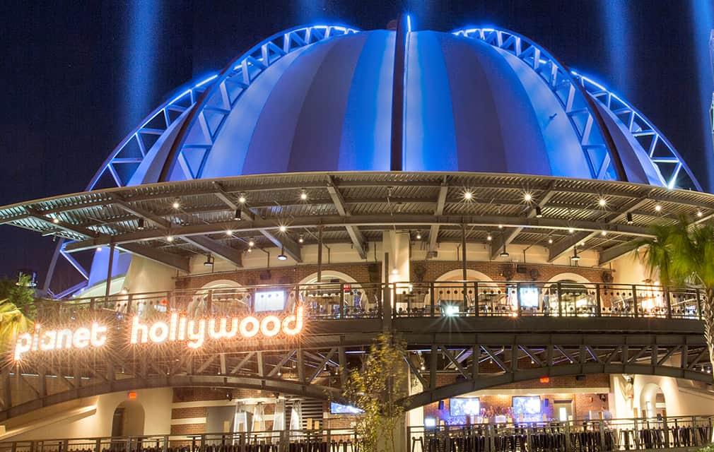Planet Hollywood, Disney Springs Restaurant Review