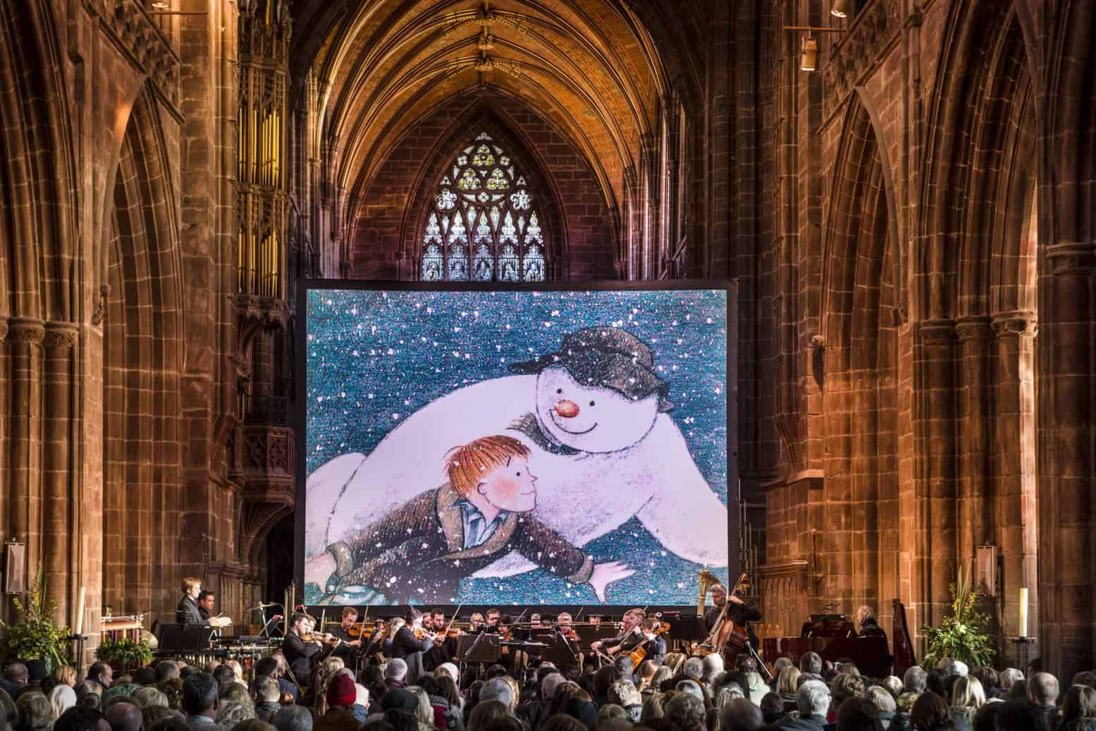 The Snowman York Minster – Christmas Event with Orchestra – Review