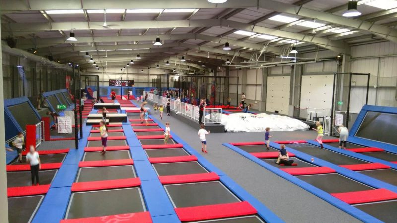 Trampoline park for kids - York