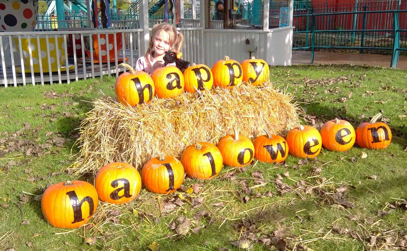 Halloween Fun at Flamingo Land, Yorkshire