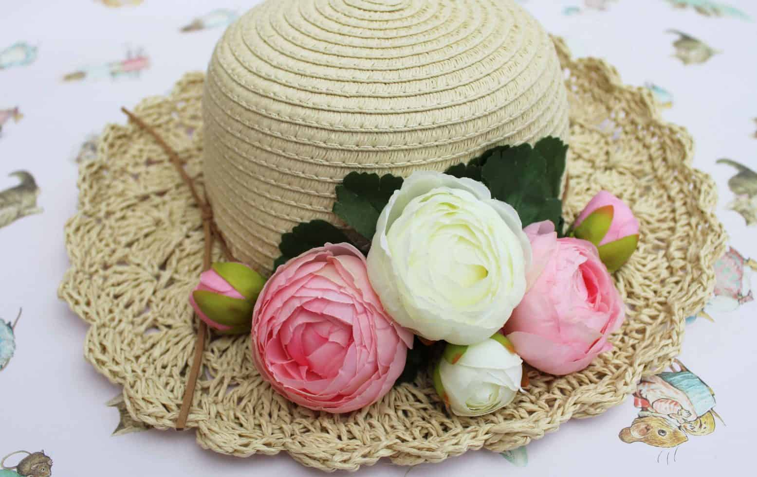 How To Decorate A Summer Straw Hat Or Easter Bonnet Yorkshire Wonders