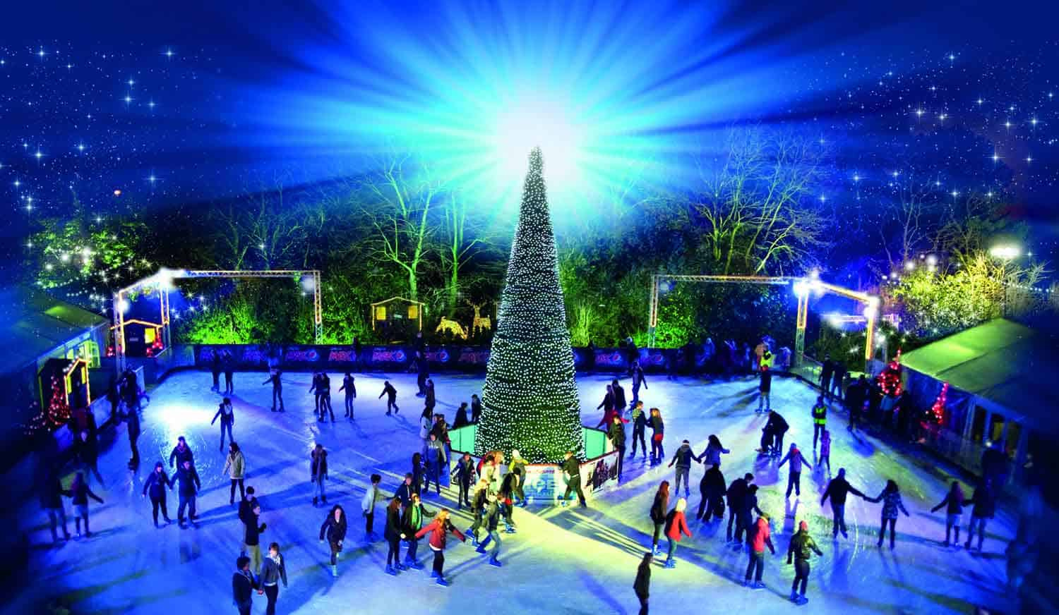 Festive Christmas Ice Skating in Yorkshire 2018