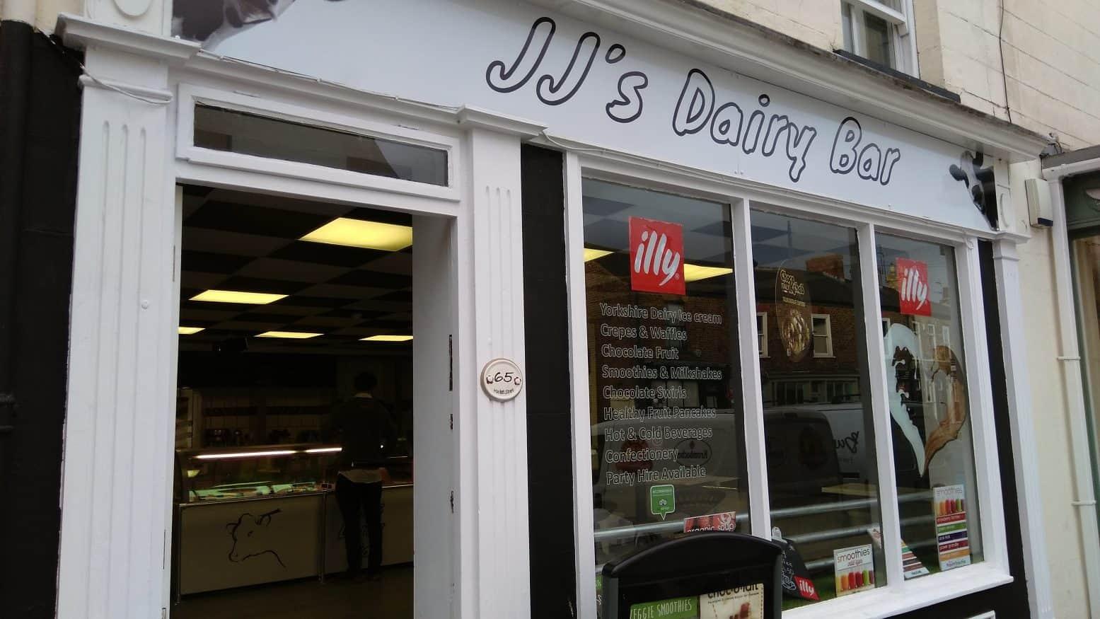 JJ's Dairy Bar – New Ice Cream Bar in Pocklington